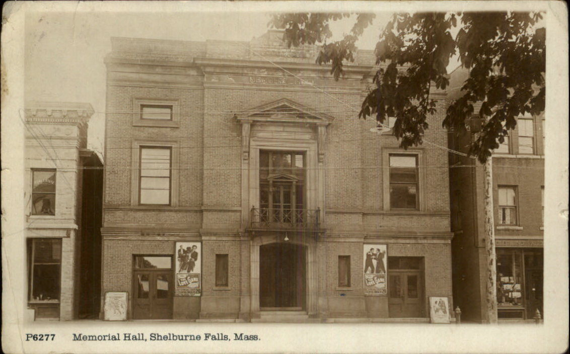 Memorial Hall Old Photo