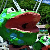 Frog from our RiverFest Parade 2014