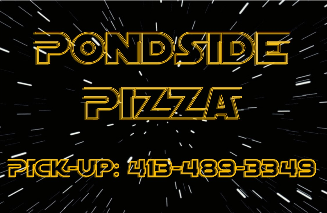 Pondside Pizza Logo